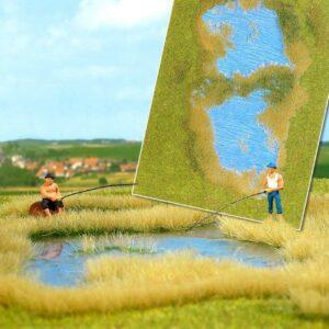 »Groundcover«-Bodendecker: See mit Ufergestaltung <br/>BUSCH 1312