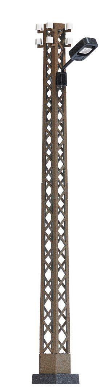 Rostige Gittermastleuchte H0  <br/>BUSCH 4180