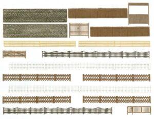 Zäune, Mauern und Tore <br/>BUSCH 6017
