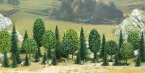 Bäume, Mischwald, Packung <br/>BUSCH 6490