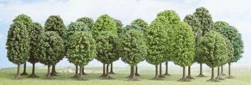 Laubbäume, 25 Stück <br/>BUSCH 6587 1