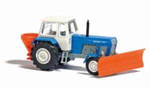 Traktor mit Schneepflug TT    <br/>BUSCH 8699
