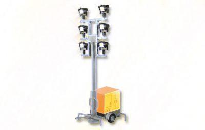 Leuchtgiraffe auf Anhänger mit LED <br/>Viessmann 1343