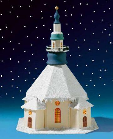 Seiffener Kirche – Lichterhaus  <br/>Auhagen 10151 1