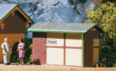 Bahnhofstoilette  <br/>Auhagen 11336