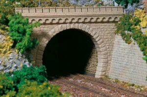 Tunnel-Portale, 2-gleisig <br/>Auhagen 11343