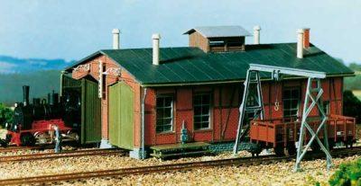 Lokschuppen, für Schmalspurbahnen <br/>Auhagen 11355