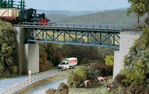Brücke, Fachwerkbrücke <br/>Auhagen 11364