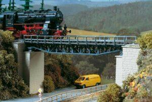 Brücke, Fachwerkbrücke <br/>Auhagen 11365