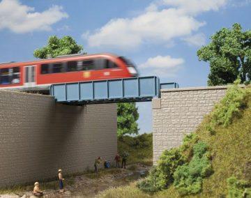 Brücke, Blechträgerbrücke <br/>Auhagen 11441 1