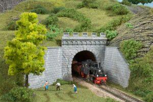 Tunnel-Portale, 1-gleisig <br/>Auhagen 13276