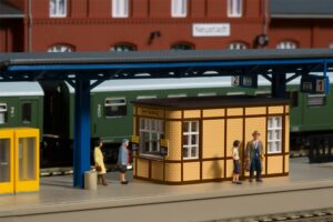 Bahnhofsausstattung <br/>Auhagen 13343