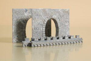 Tunnel-Portale, 1-gleisig <br/>Auhagen 41586