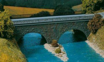 Brücke, Kleine Straßenbrücke <br/>Auhagen 41589 1