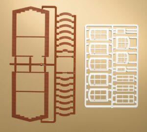 Fensterbögen und Fenster  <br/>Auhagen 41615