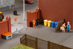 Mülltonnen mit Zubehör <br/>Auhagen 41649
