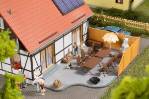 Terrassenausstattung <br/>Auhagen 41650