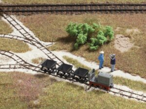 Feldbahn-Set (Attrappe) <br/>Auhagen 41700