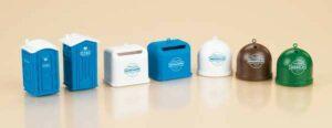 Mobiltoiletten, Recycling-Container  <br/>Auhagen 42593