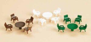 Gartentische, Gartenstühle <br/>Auhagen 42647