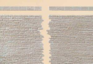 Steinmauern mit Abschlusssteinen <br/>Auhagen 42649