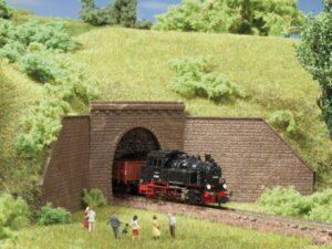 Tunnel-Portale, 1-gleisig <br/>Auhagen 44635