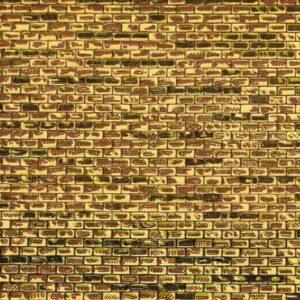 Dekorpappen regelmäßiges Mauerwerk <br/>Auhagen 50101