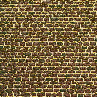 Dekorpappen unregelmäßiges Mauerwerk <br/>Auhagen 50102