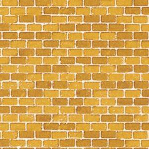 Dekorpappen Ziegelmauer ocker <br/>Auhagen 50110
