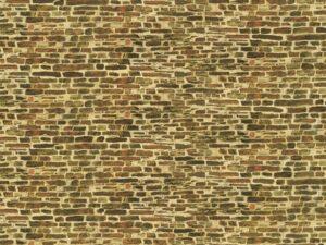 Dekorpappe Kalksteinmauer klein lose <br/>Auhagen 50516