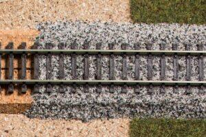 Granit-Gleisschotter grau N/TT <br/>Auhagen 63833