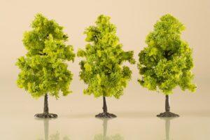 Laubbäume hellgrün 11 cm <br/>Auhagen 70937