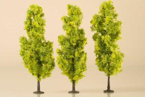 Laubbäume hellgrün 15 cm <br/>Auhagen 70939