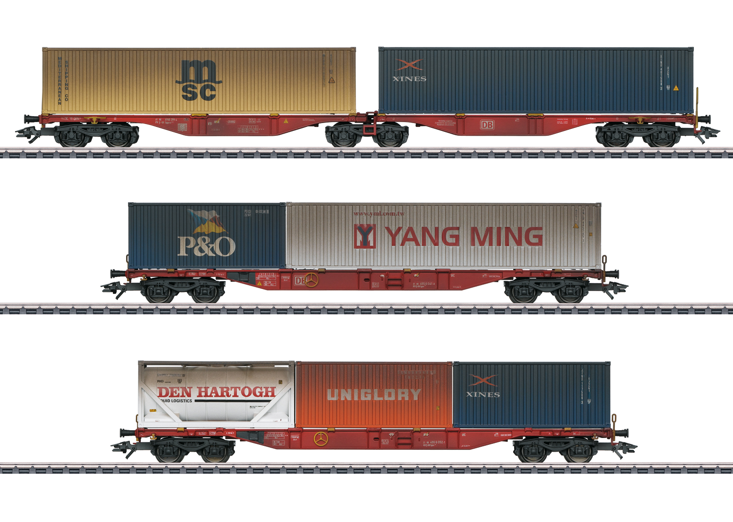 Märklin 47810 Containerwagen-Set DB AG