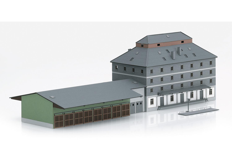 Märklin 72706 <br/>Bausatz WLZ-Gebäude m.Markt