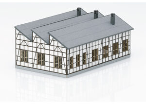Märklin 72709 <br/>Bausatz Lokschupppen Rottweil