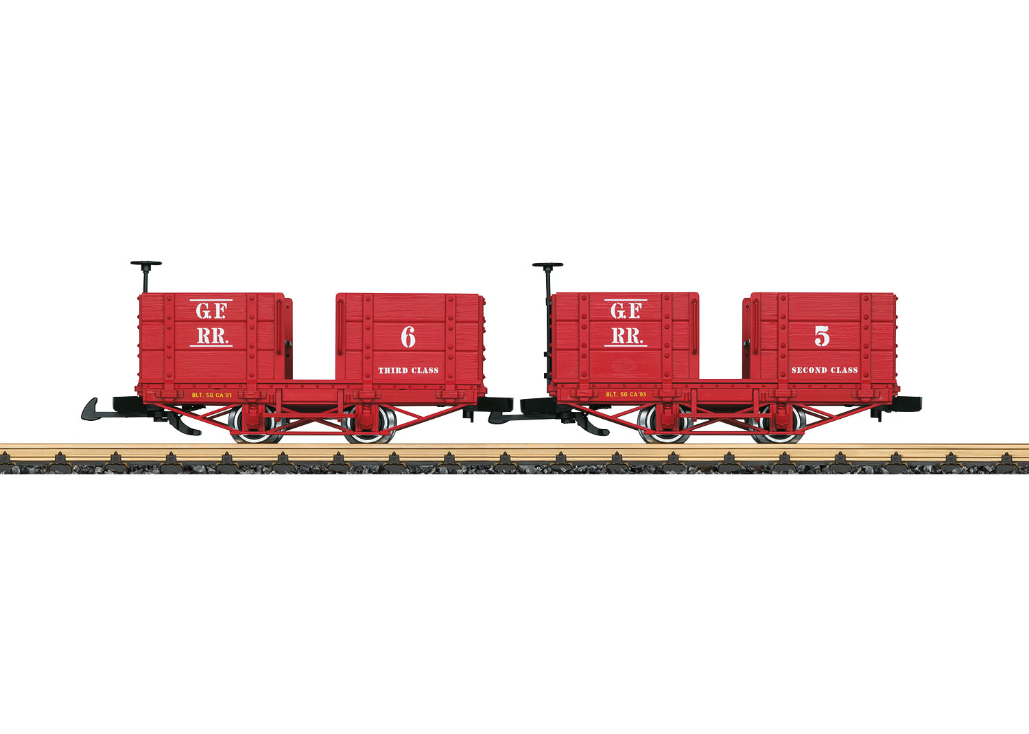 LGB 32441 <br/>Personenwagen-Set, Grizzly Fla 1