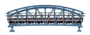 Vollmer 42540 <br/>Brücke, Stahlbogenbrücke, gebogen