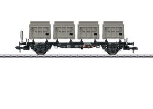 Märklin 58558 <br/>Behältertragwagen BTms 55