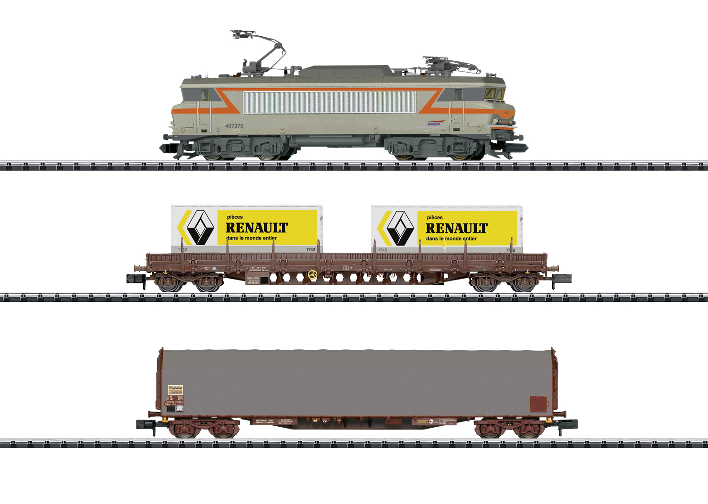 TRIX 11142 <br/>Startpackung Güterzug Frankre