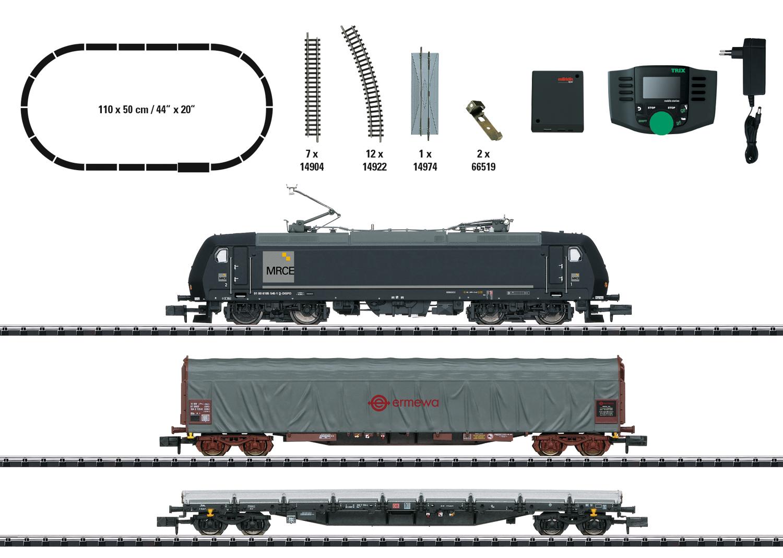 TRIX 11147 <br/>Startpackung Int. Güterzug Ep