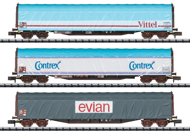 TRIX 15375 <br/>Güterwagen-Set Rils SNCF