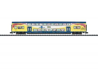 TRIX 15396 <br/>Doppelstockwagen Metronom 2.K