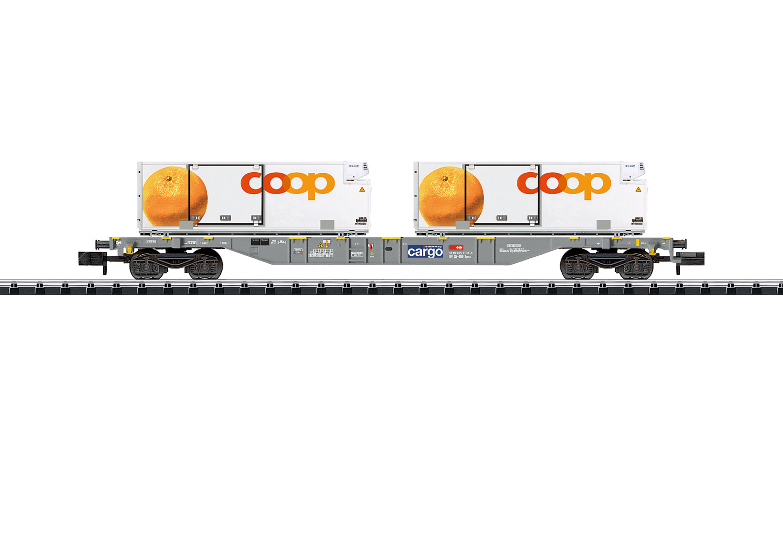 TRIX 15469 <br/>Containertragwagen Kühltransp
