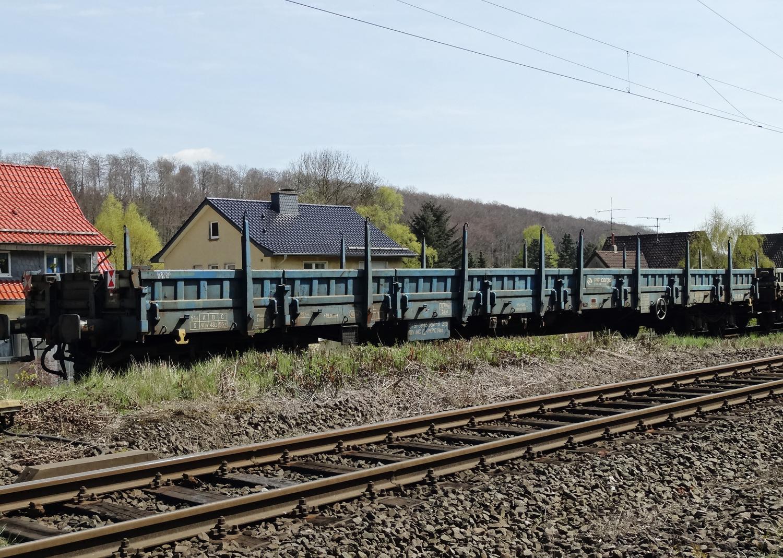 TRIX 15487 <br/>Niederbordwagen Res PKP