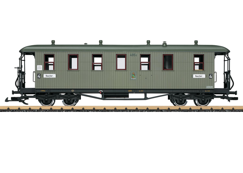 LGB 31354 <br/>Personenwagen 4.Kl. S.St.E.