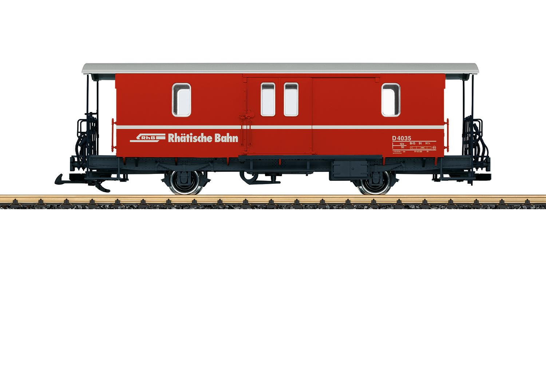 LGB 34554 <br/>Gepäckwagen RhB D2 1