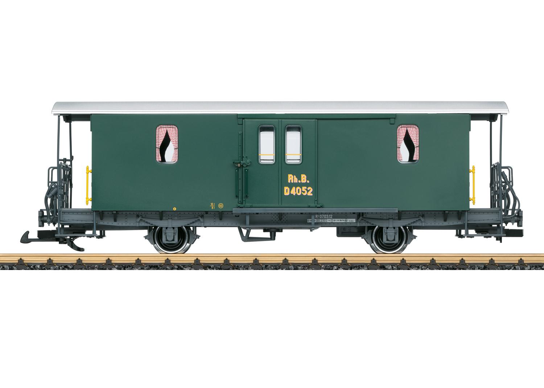 LGB 34556 <br/>Gepäckwagen RhB D2 1