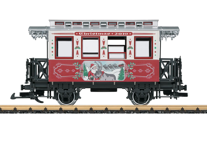 LGB 36019 <br/>Weihnachtswagen 2019 1