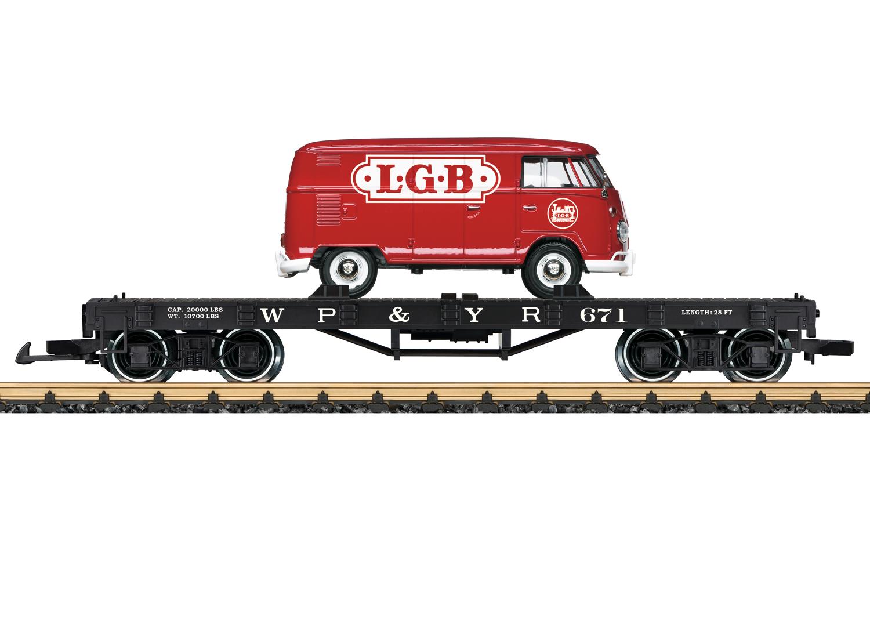 LGB 40597 <br/>Flachwagen WP<(>&<)>Y RR 1